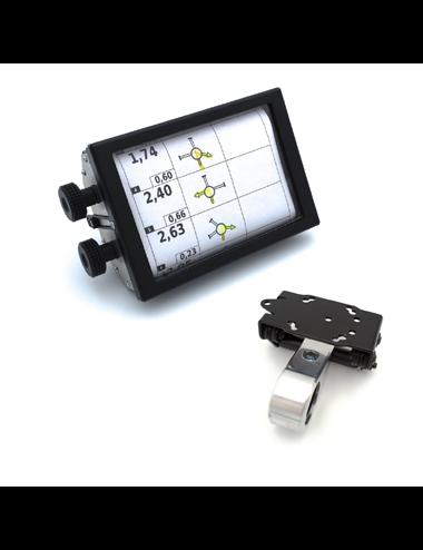 RB801 – Manual Roadbook Holder (with SW-MOTECH handlebar mount)