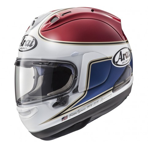CASCO ARAI RX -7V SPENCER 40TH RED