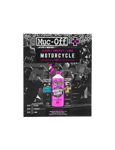 KIT DE LIMPIEZA TOTAL MUC-OFF