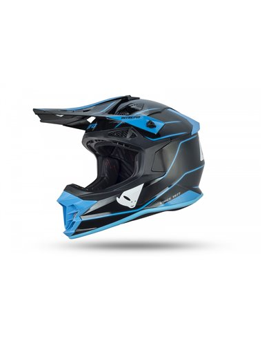 CASCO UFO INTREPID HELMET BLACK AND BLUE