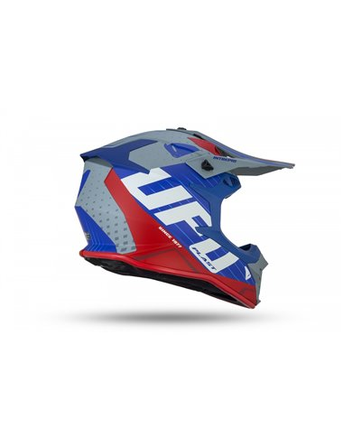 CASCO UFO INTREPID HELMET BLUE, GRAY AND RED