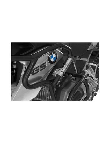 Reposapiés Highway Pegs para tuberías con un diámetro de 25 mm, por ejemplo BMW R1200GS a partir de 2013, Triumph Tiger Explorer