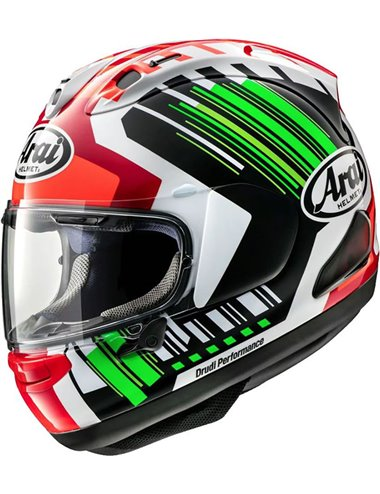 CASCO ARAI RX-7 V REA GREEN