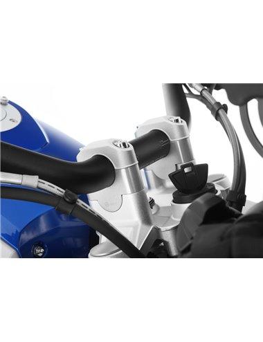 ALAZAS DE MANILLAR WUNDERLICH 25mm PARA BMW R1250 / R1200 / S 1000 XR