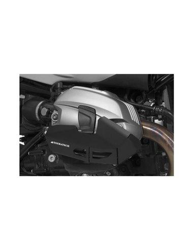 Protección del cilindro en aluminio color negro para BMW R1200RT/GS/ADV (2010-2013), R nineT/ R nineT Scrambler/ RnineT Urban G/